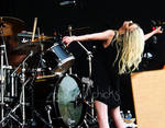 My Favorite Shot of The Pretty Reckless Show by ORockGirl