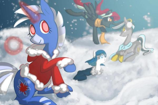 In The Snow by Dezmar