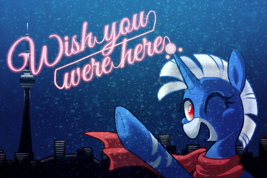 Wish your were here, at CANterlot Con