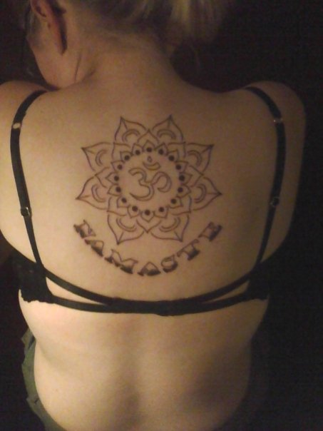 The gallery for --> Namaste Symbol Tattoo Designs