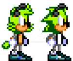 Sonic SMS Styled Miles (New and Old)