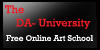 The DA University Icon by DarkIcyWarrioress