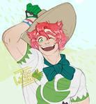 i love a green big boy