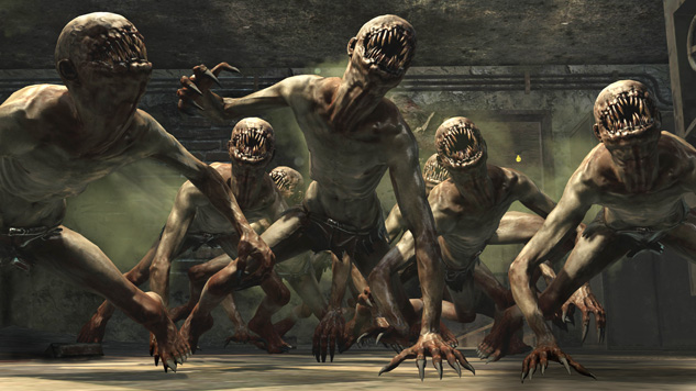 Crawler Zombies by glaurung777
