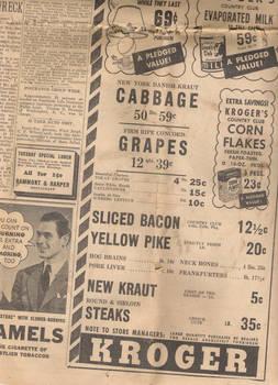Vintage News Paper I