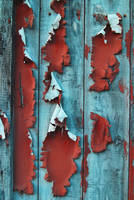 Wood Paint Peeling III by LogicalXStock