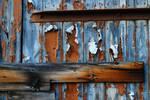 Wood Paint Peeling V by LogicalXStock