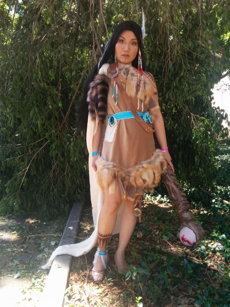 Pocahontas: The Warrior Princess by caillen