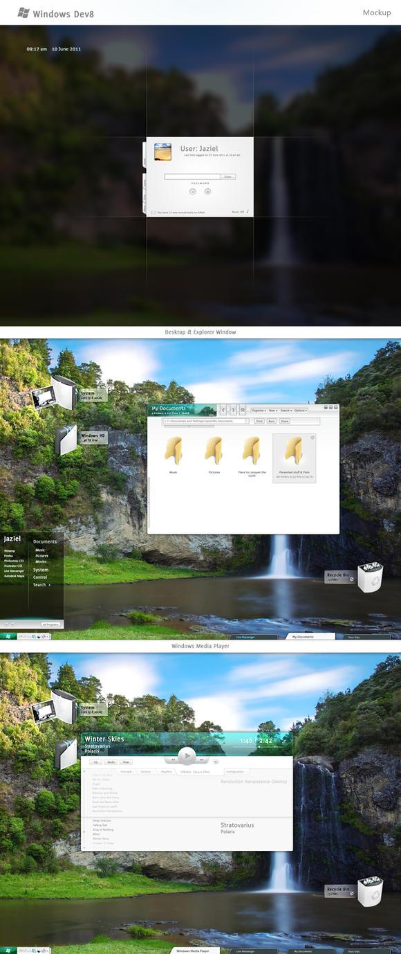 Windows Dev 8 by Jaziel