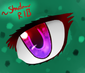 Shading and Style Practice - 'Eye Spy...' by Shadow-Rukario