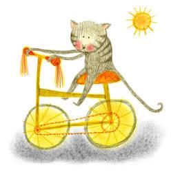 Chat en bicik