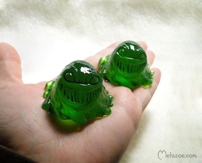 Pocket oozeling by metazoe