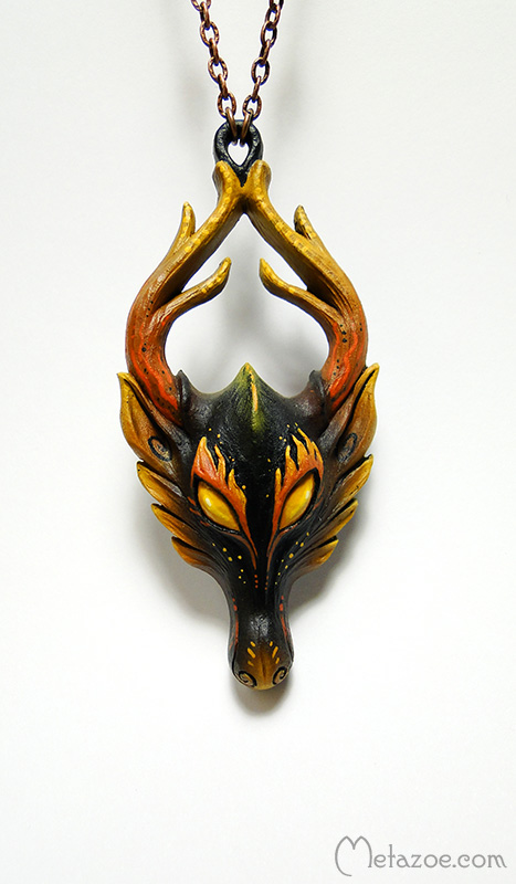 Beast of Fire by metazoe