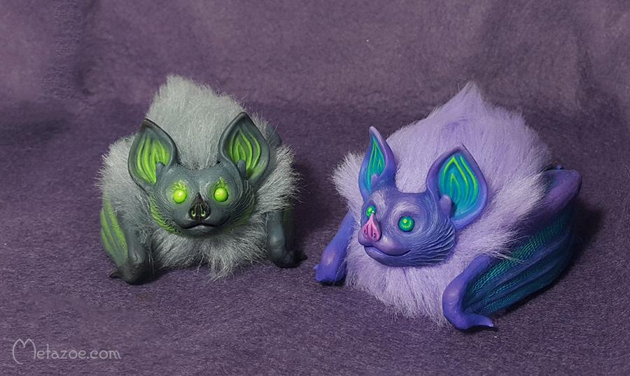 Fluffy bats by metazoe