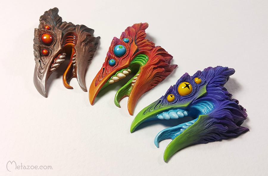 Chtonic birds by metazoe