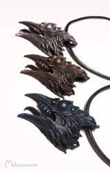 Chtonic birds metallic by metazoe