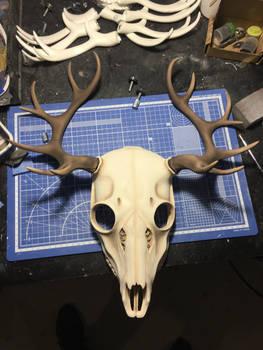 [WIP] Deer skull mask