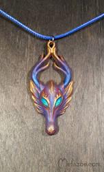 Purple-bronze fawn
