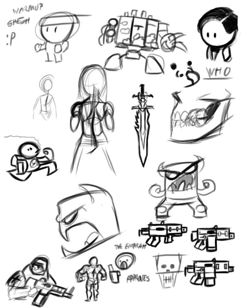 Digital sketchdump :P by slepo1
