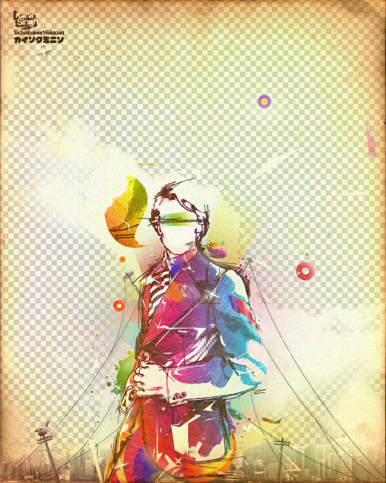 .technicolour.waistcoat by blindn