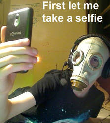 first let me take a selfie by Samtaynov