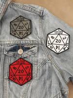 Black stitching D20 by AmandaJayne00