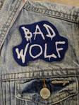 Bad Wolf Iron On Patch by AmandaJayne00
