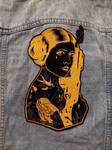 LIMITED EDITION Gold Rebel Princess Iron-On Patch by AmandaJayne00