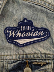Whovian Iron-On Patch
