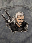 Witcher Iron-On Patch by AmandaJayne00