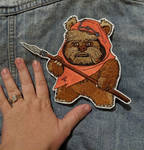 Wicket Iron-On Patch by AmandaJayne00