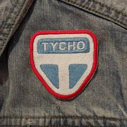Tycho Station Iron-on Patch