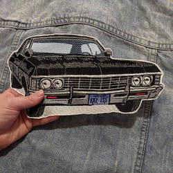 Chevy Impala Iron-on Patch
