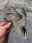 XXL Gandalf Iron-on Patch by AmandaJayne00