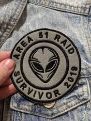 Area 51 Raid Survivor 2019 by AmandaJayne00