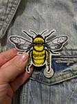 Bee Patch by AmandaJayne00