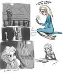 Princess Elsa doodles