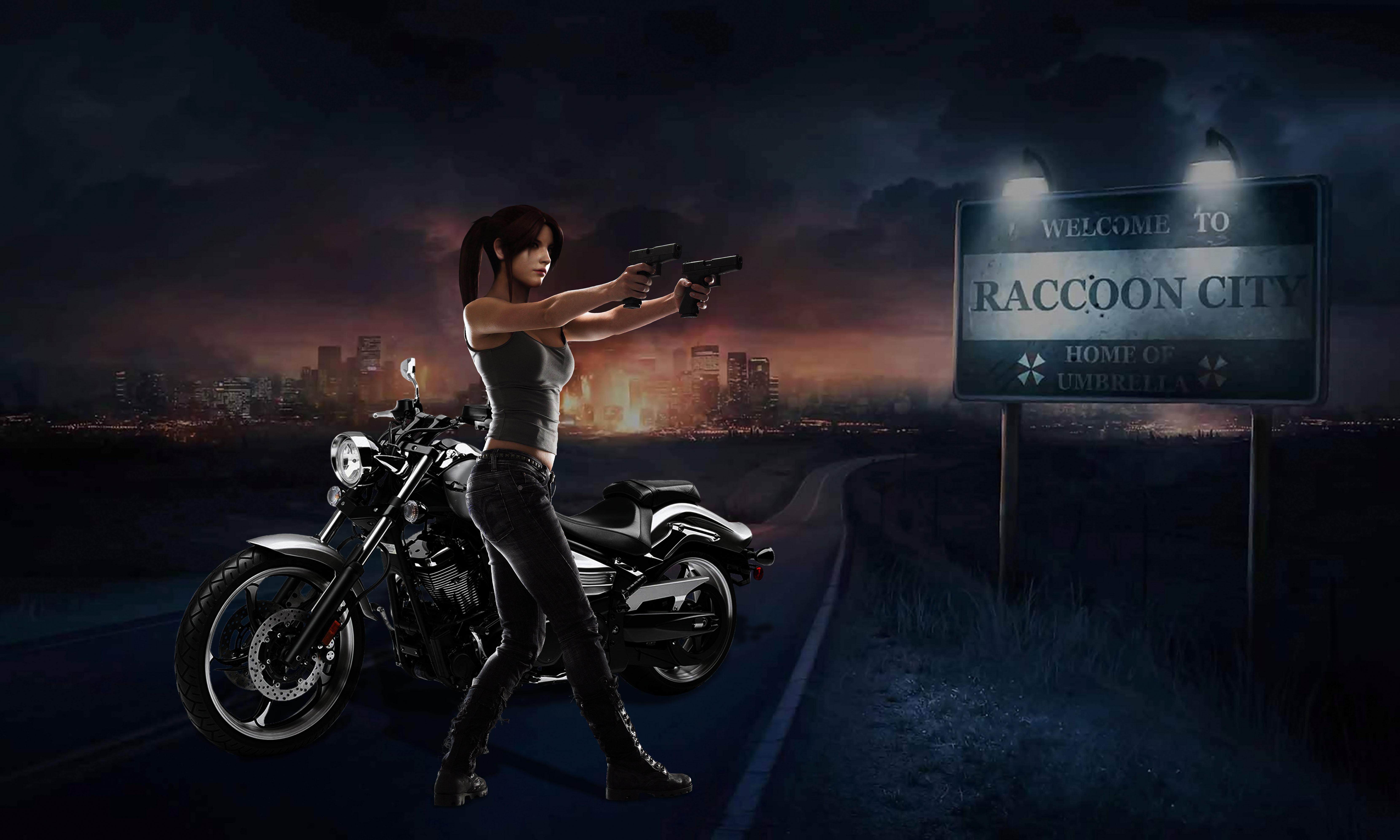 Survivor of Raccoon City by Taitiii