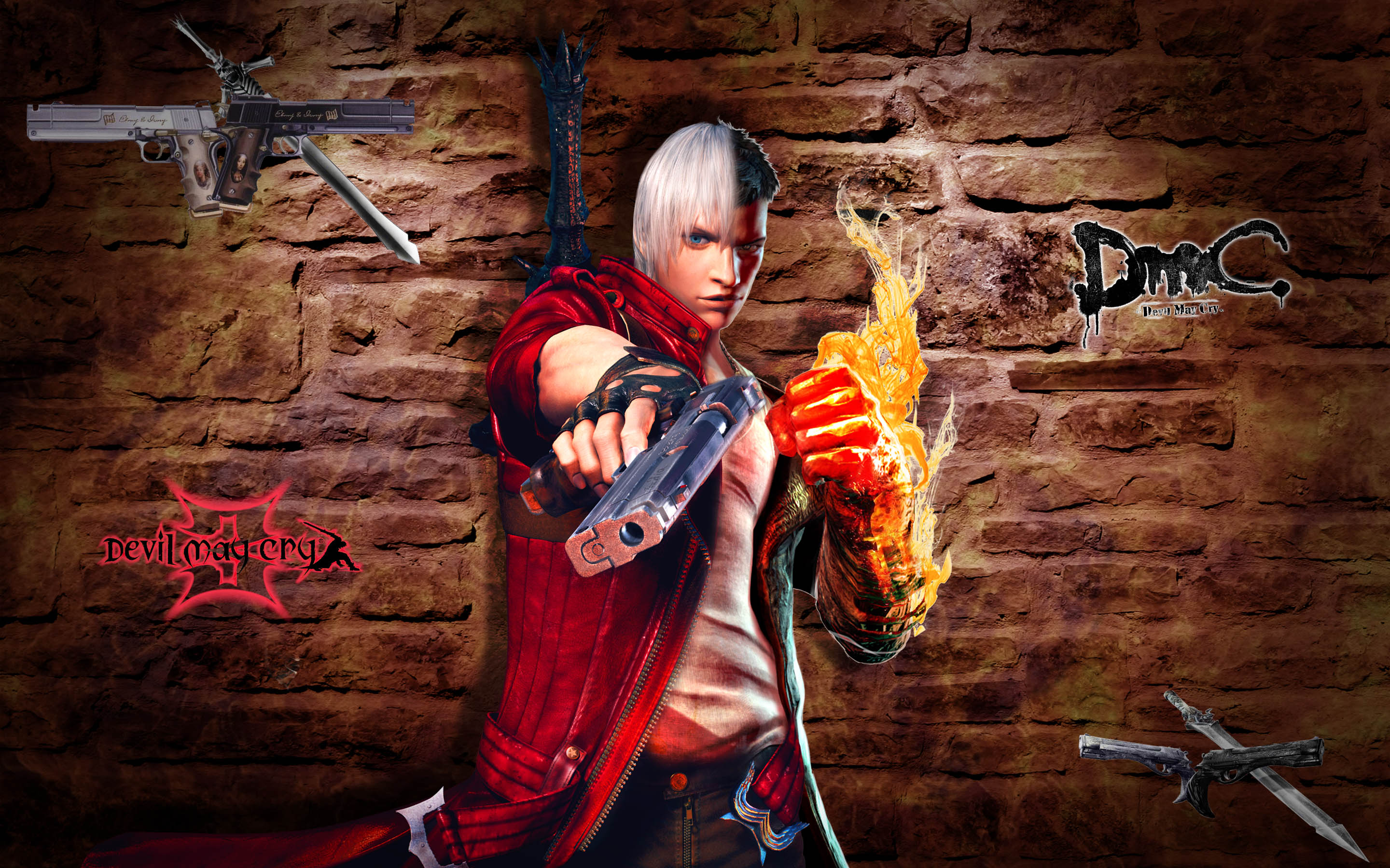 Dante  Dmc 3 Vs Dmc 5 By Taitiii On Deviantart