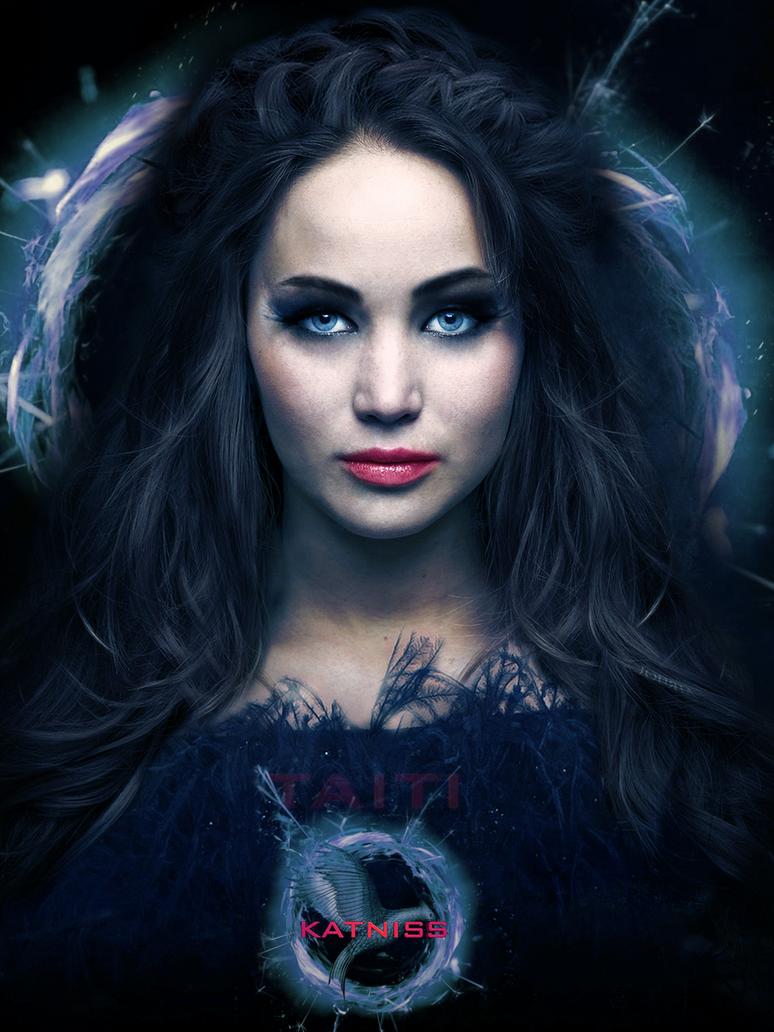 Katniss by Taitiii