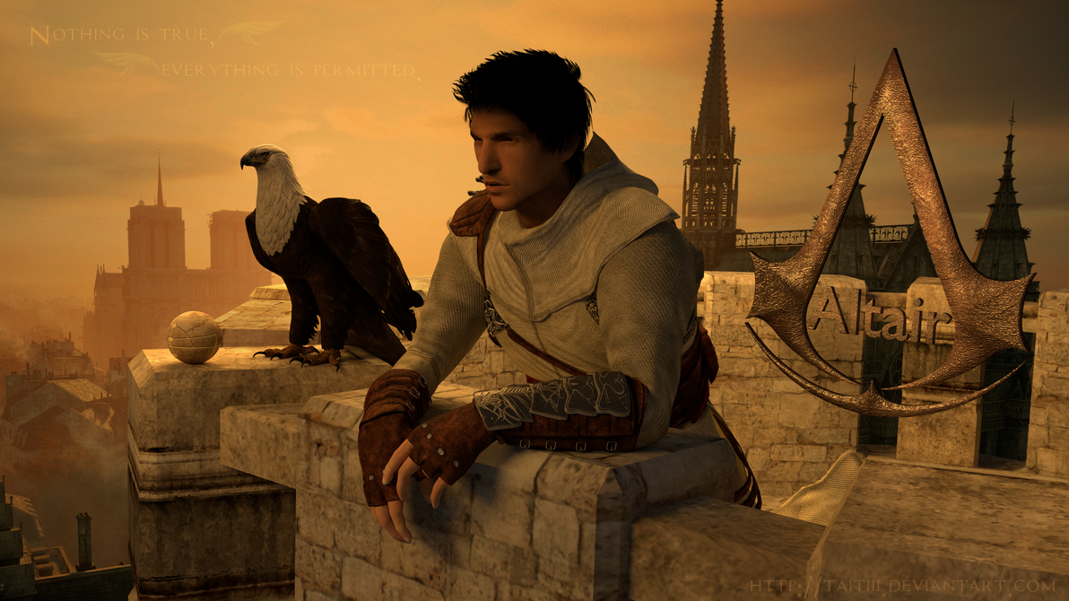 What does Altair from Assassin's Creed look like without ...