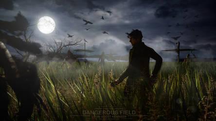 Dangerous field by Taitiii