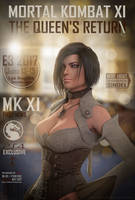 Mortal kombat XI: The queen's return by Taitiii