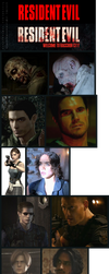 Resident evil: Welcome to Raccoon. Comparison by Taitiii