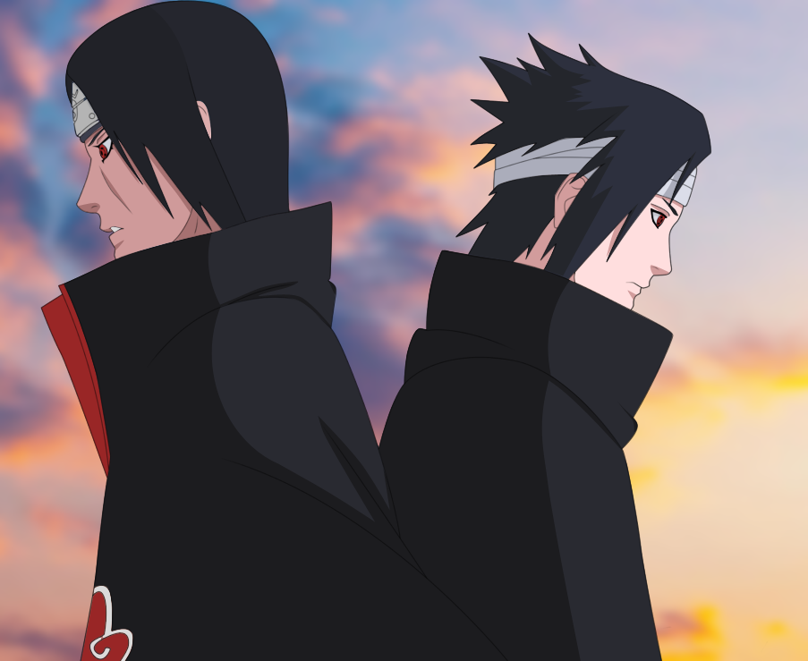 Sasuke vs Itachi by Agito-san on DeviantArt