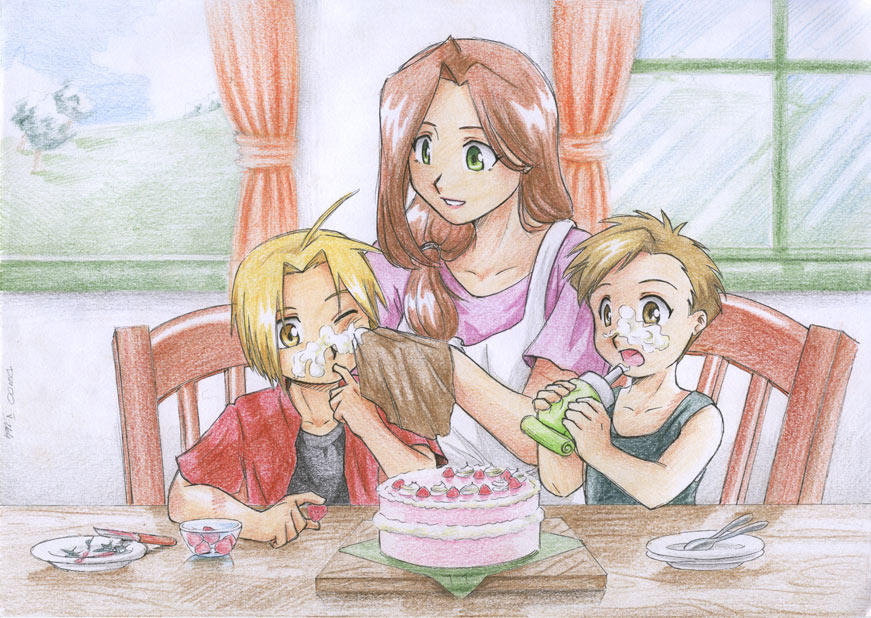 Mother's Day Contest Winner by edward-elric
