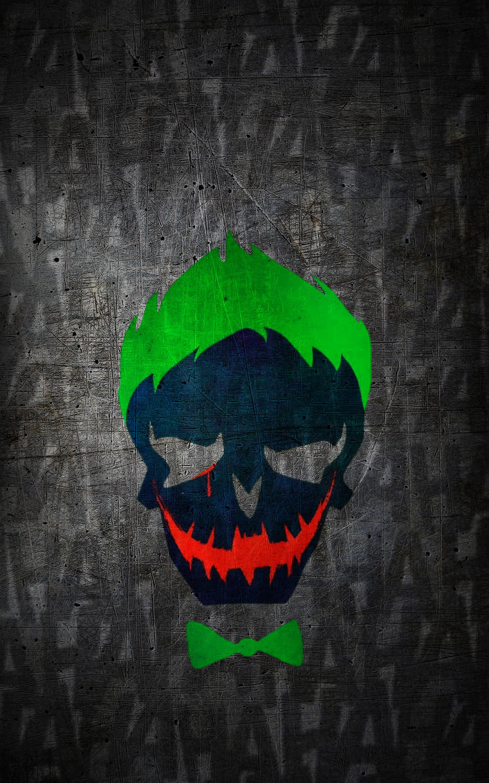 Suicide-Squad Joker HD Wallpaper (iPhone/Android) By