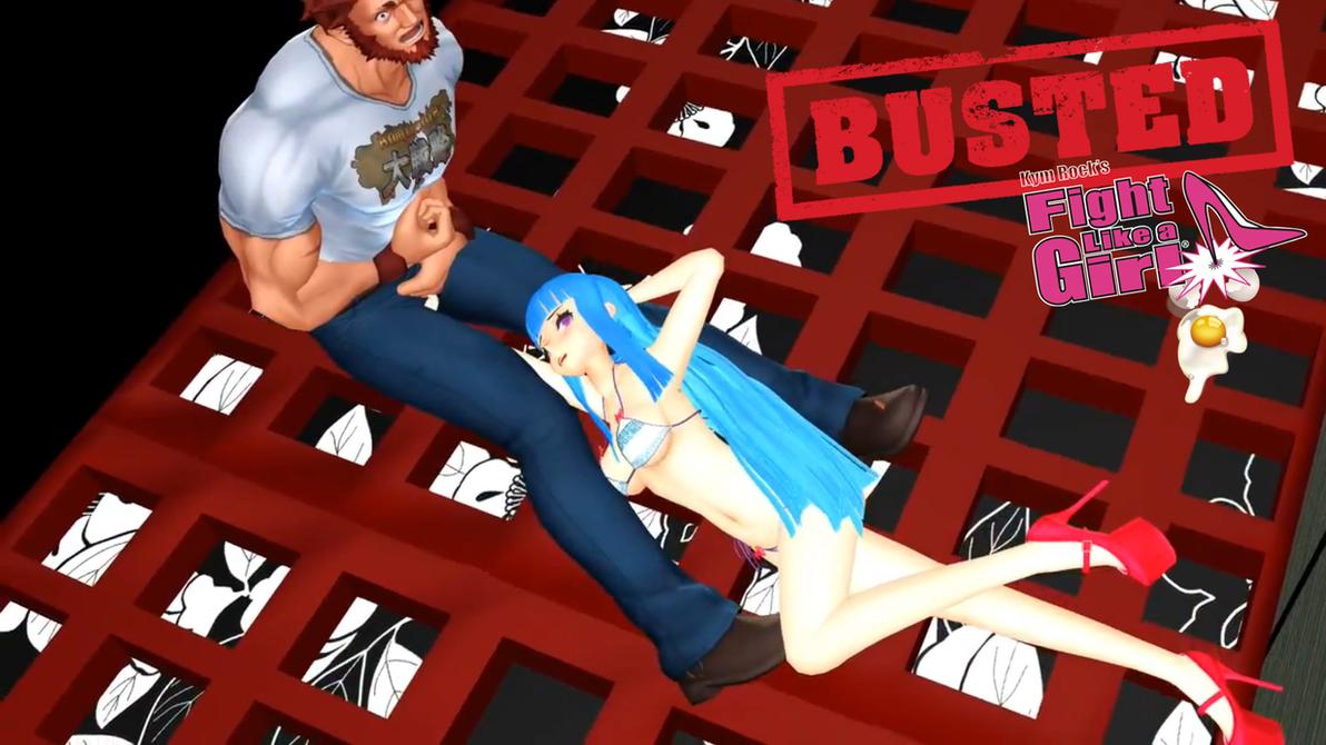 Anime Meme Chan Ballbusting