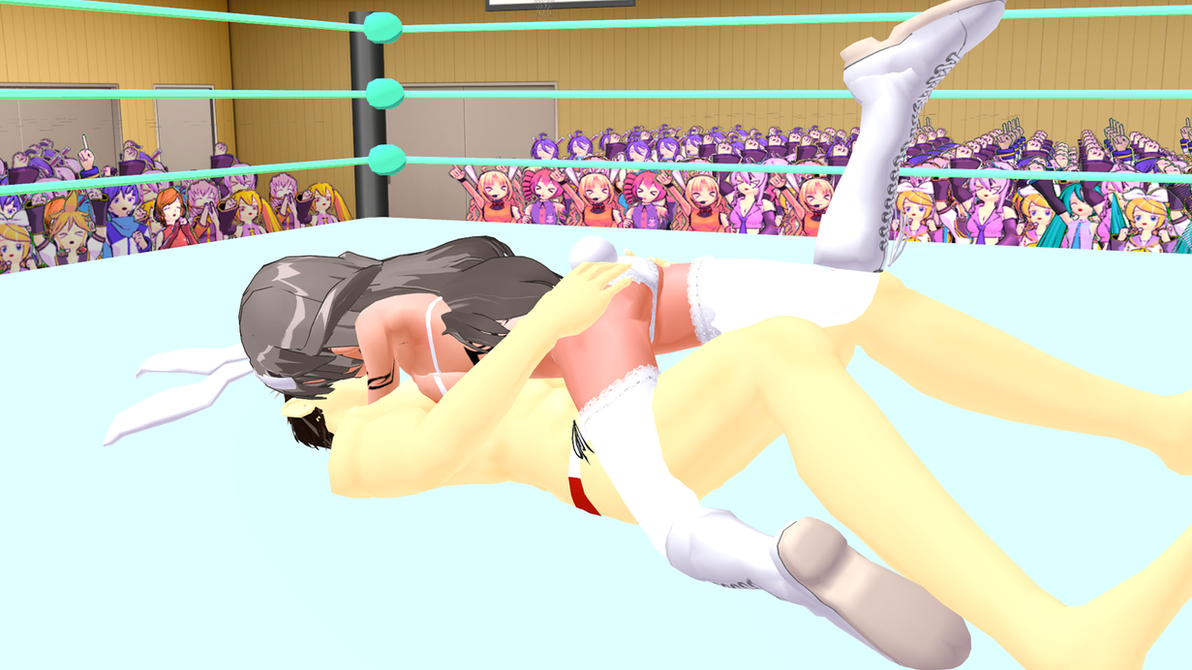Hot Anime Ballbusting Ryona Mixed Wrestling MMD 9 by ...