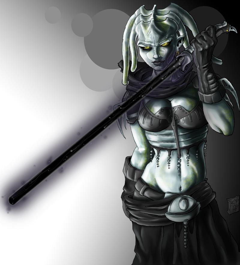Darth Lisanne by drawnblud